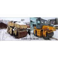 Ремонт дорожного катка ДУ-63