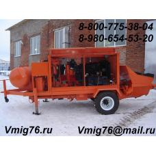 Стационарный бетононасос БН-65Д
