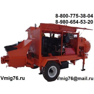 Стационарный бетононасос БН-40Д