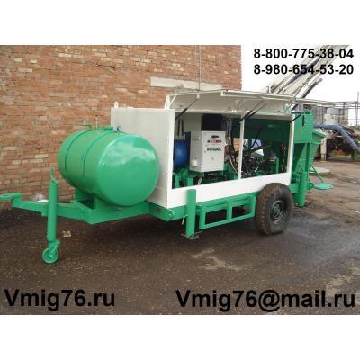 Стационарный бетононасос БН-20Э