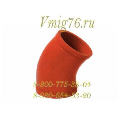 Колено бетоновода DN125