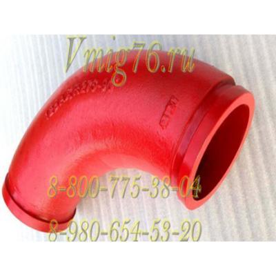 Звено бетоновода DN125 (QY0011-DN125*R275*90)